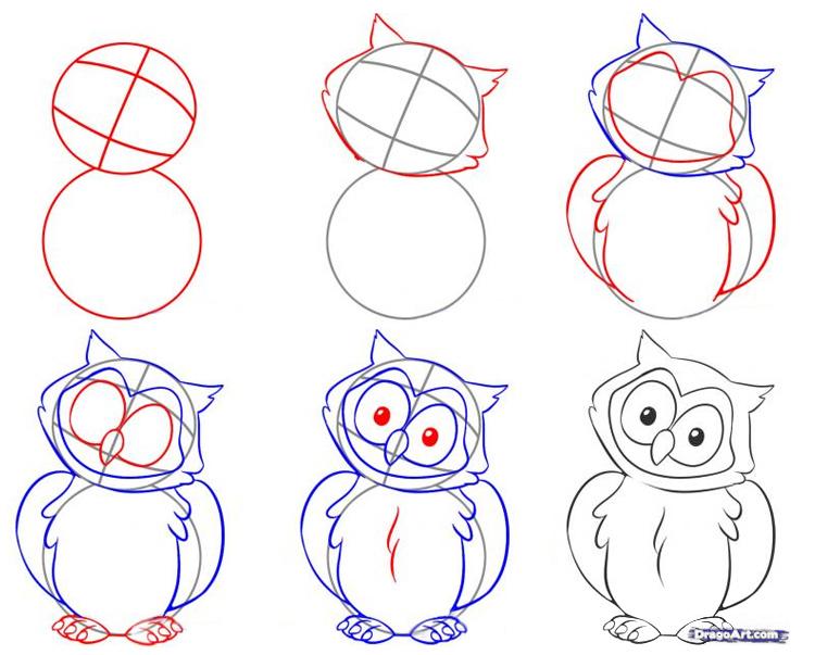Картинки для начинающих как нарисовать
