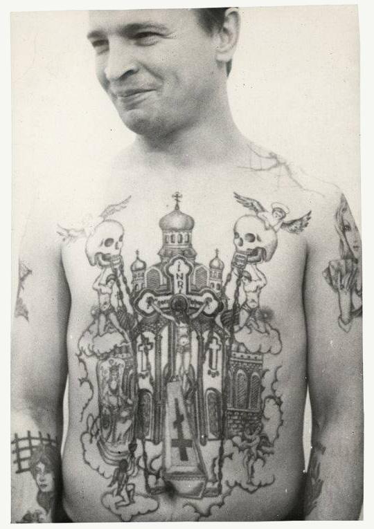 Krpanje Galebova Na Ruci U Zatvoru Zatvorske Tetovaže U Sssr U